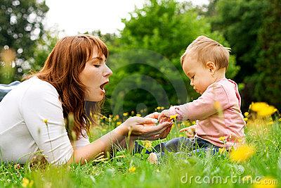 Puterea cuvantului mamei asupra copilului